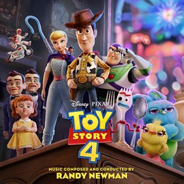 Toy Story 4 soundtrack, book cover
