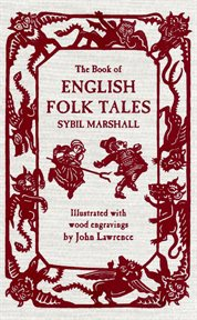 The book of English folk tales cover image