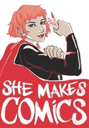 She makes comics cover image