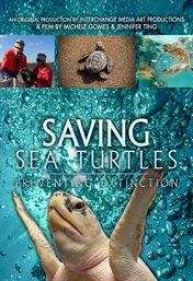 Saving sea turtles : preventing extinction cover image