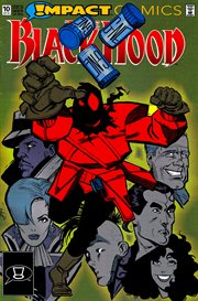 The black hood. Issue 10 cover image