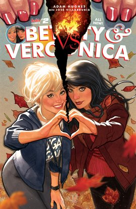 Cover image for Betty & Veronica by Adam Hughes
