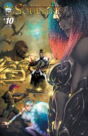 Michael Turner's soulfire. Issue 10 cover image