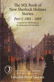 MX book of new Sherlock Holmes stories. Part I, 1881 to 1889 cover image