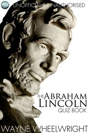 The Abraham Lincoln quiz book cover image