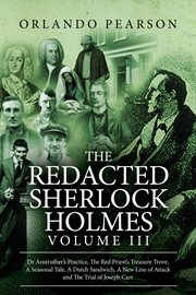 The redacted sherlock holmes - volume 3 cover image
