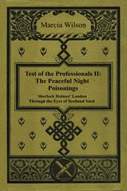 Test of the professionals. II, The peaceful night poisonings cover image