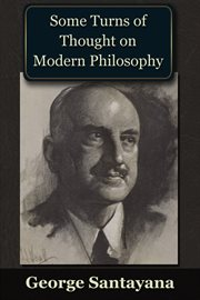 Some turns of thought on modern philosophy cover image