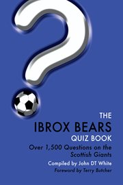 The ibrox bears quiz book cover image