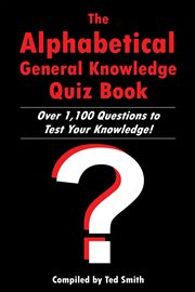 The alphabetical general knowledge quiz book cover image