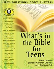 What's in the Bible for-- teens cover image