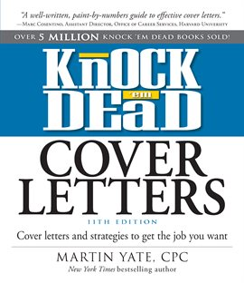 Cover image for Knock Em Dead Cover Letters