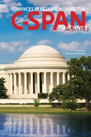 Advances in research using the C-SPAN archives cover image