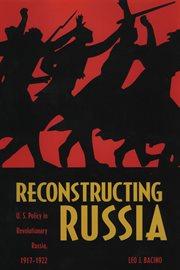 Reconstructing Russia