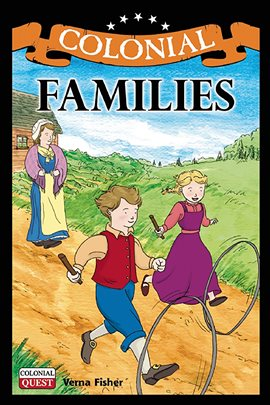 Cover image for Colonial Families