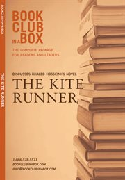 Bookclub-in-a-box presents the discussion companion for Khaled Hosseini's novel The kite runner cover image