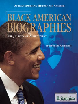 Cover image for Black American Biographies
