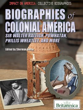 Cover image for Biographies of Colonial America