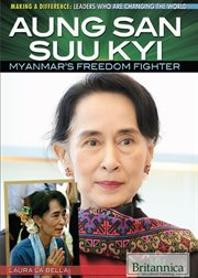 Aung San Suu Kyi: Myanmar's freedom fighter cover image
