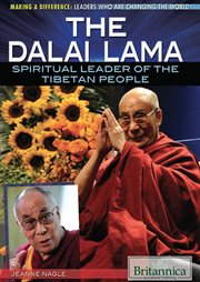 The Dalai Lama: spiritual leader of the Tibetan people cover image