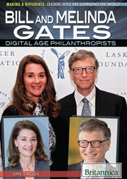Bill and Melinda Gates: digital age philanthropists cover image