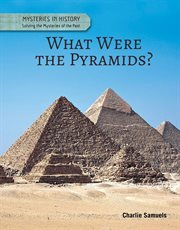 What were the pyramids? : solving the mysteries of the past cover image