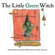 The little green witch cover image
