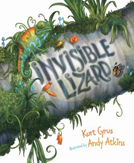 Cover image for Invisible Lizard