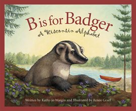 Cover image for B is for Badger