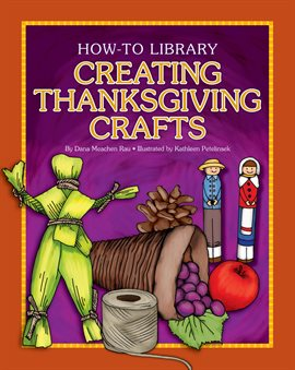 Creating Thanksgiving Crafts, book cover