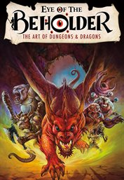 Eye of the beholder. The Art of Dungeons & Dragons cover image