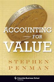 Accounting for value cover image