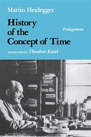 History of the concept of time: prolegomena cover image