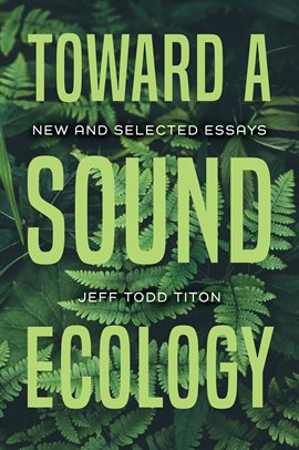 Cover image for Toward a Sound Ecology