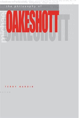 Cover image for The Philosophy of Michael Oakeshott