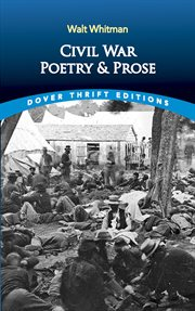 Civil War poetry and prose cover image