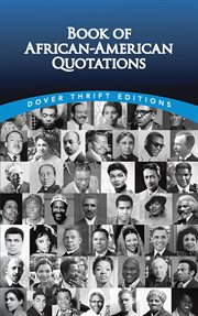 Book of African-American quotations cover image