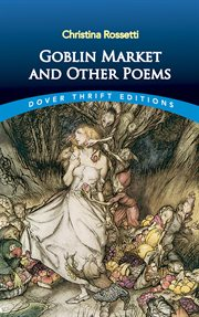 Goblin market, and other poems cover image