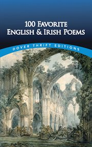 100 favorite English and Irish poems cover image