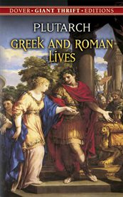 Greek and Roman lives cover image