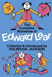 The complete nonsense of Edward Lear cover image