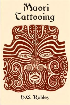 Maori Tattooing, book cover
