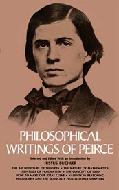 Philosophical writings of Peirce cover image