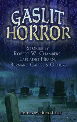 Cover image for Gaslit Horror