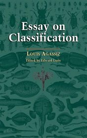 An essay on classification cover image