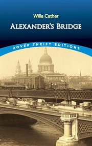 Alexander's bridge cover image