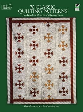 Cover image for 70 Classic Quilting Patterns
