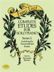 Complete Etudes for Solo Piano, Series I