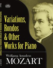 Variations, rondos and other works for piano cover image