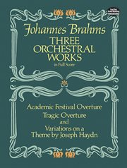 Three orchestral works cover image
